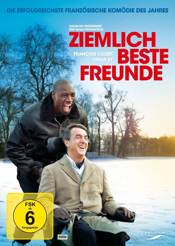 DVD-Ziemlich-beste-Freunde-NEU-OVP-Francois-Cluzet-Omar-Sy