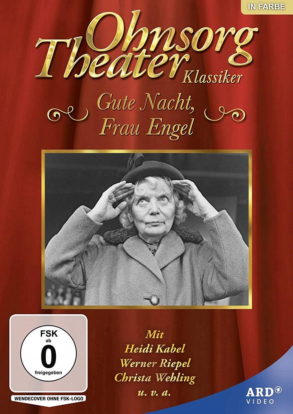 Ohnsorg-Theater Klassiker: Gute Nacht, Frau Engel DVD NEU