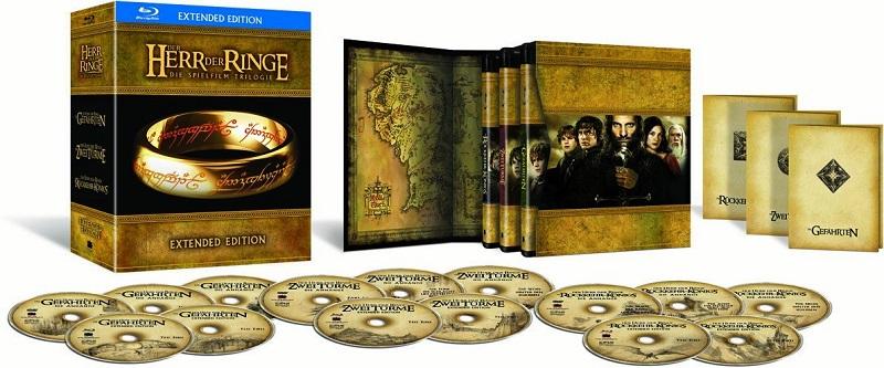 Der-Herr-der-Ringe-Die-Spielfilm-Trilogie-Ext-Ed-Teil-1-2-3-Blu-ray-NEU