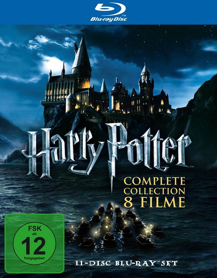 harry potter box blu ray