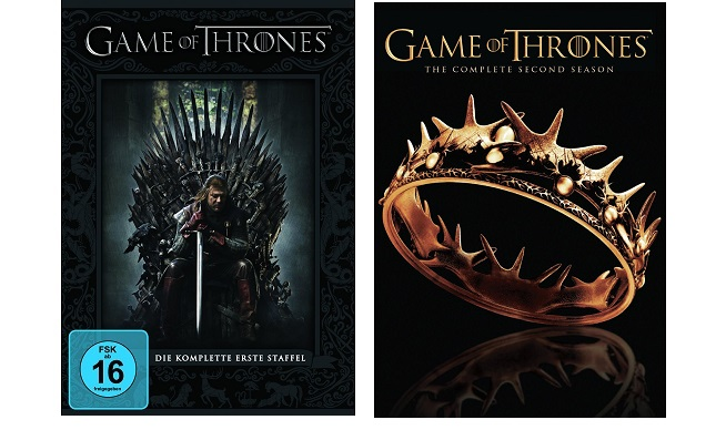 Game of Thrones - Season/Staffel 1+2 * NEU OVP * DVD Box ...