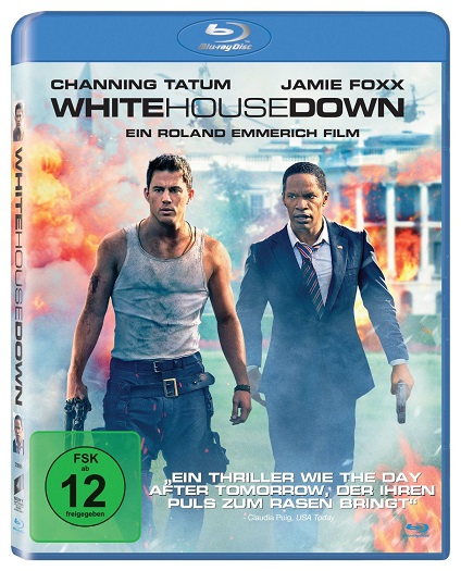 Blu-ray-White-House-Down-NEU-OVP-Channing-Tatum-Jamie-Foxx