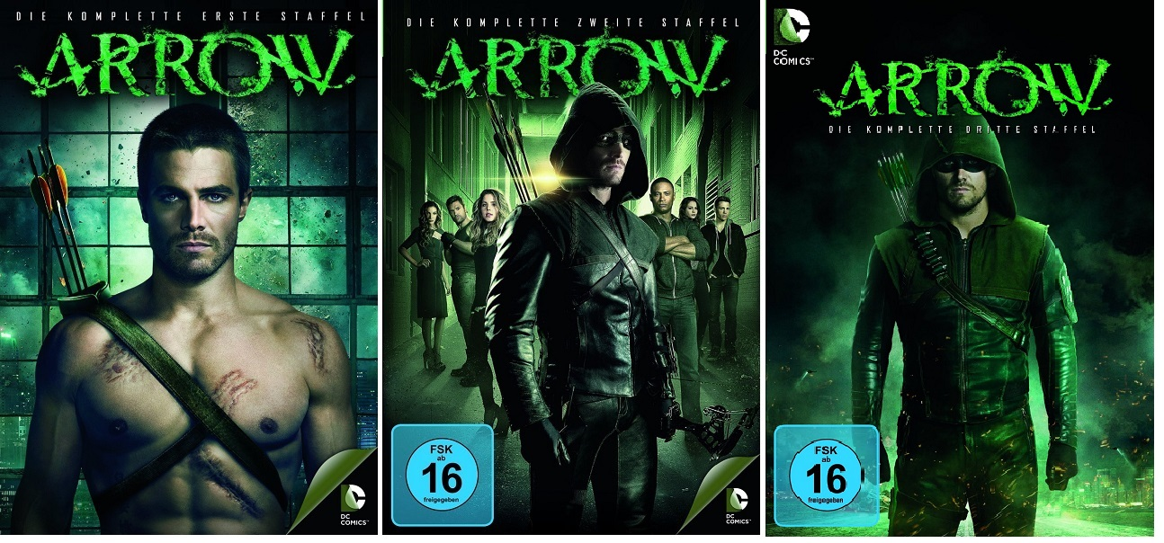 arrow staffel 1 deutsch