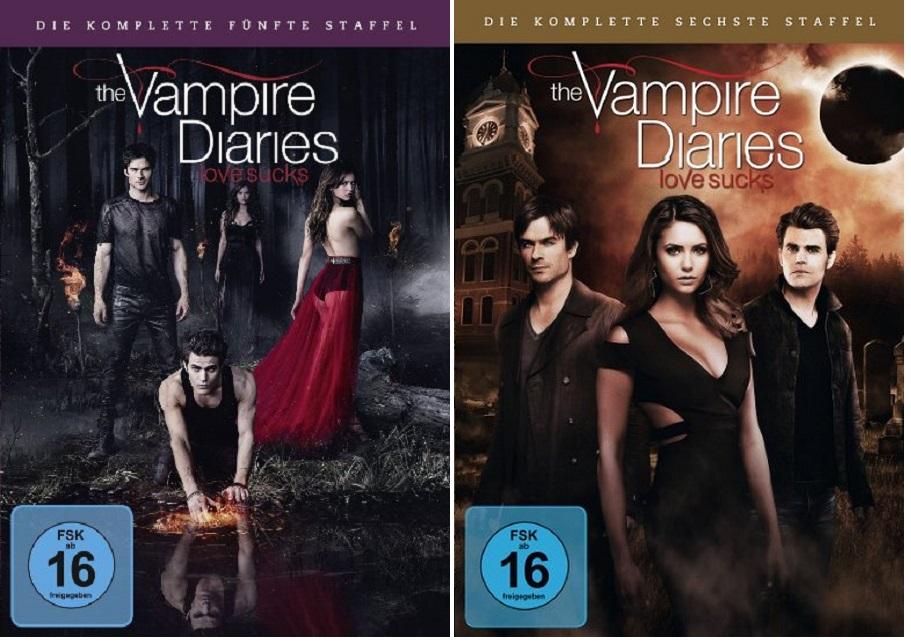 wann kommt vampire diaries staffel 6 auf dvd