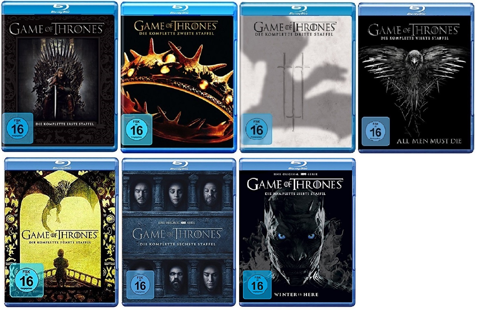 Details Zu Game Of Thrones Staffel 1 7 1234567 Blu Ray Set Neu Ovp