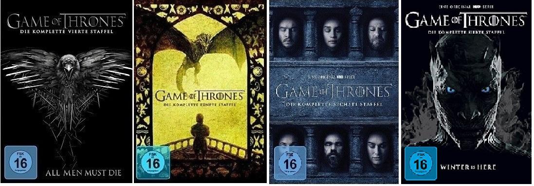 Game Of Thrones Staffel 4 7 4567 Dvd Set Neu Ovp Ebay