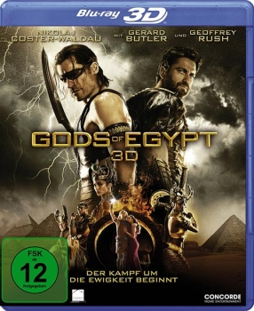 Gods of Egypt - 3D Blu-Ray