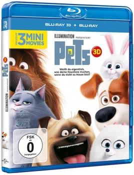Pets - 3D Blu-Ray