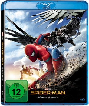 Spider-Man Homecoming Blu-Ray