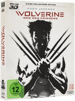 Wolverine: Weg des Kriegers -  3D Blu-Ray - 3-Disc Collectors Edition