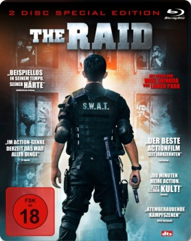 The Raid - 2 Disc Steelbook Blu-Ray