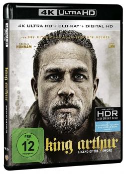 King Arthur: Legend of the Sword (4K Ultra HD) [Blu-ray]