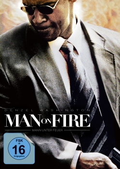 Man on Fire - Mann unter Feuer Blu-Ray + DVD Mediabook Cover A
