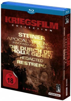 Kriegsfilm Collection Blu-Ray