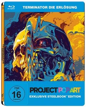 Terminator 4 - Die Erlösung - Project Popart Steelbook Edition [Blu-ray]