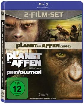 Planet der Affen & Planet der Affen - Prevolution Blu-Ray