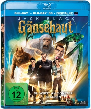 G�nsehaut - 3D Blu-Ray