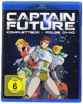 Captain Future - Komplettbox Blu-Ray