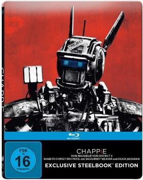 Chappie (Mastered in 4K) [Blu-ray] Steelbook