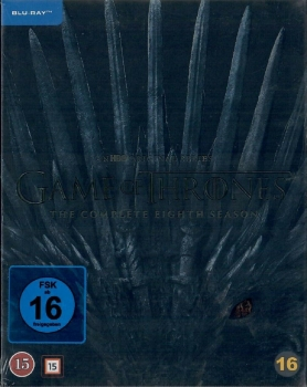 Game of Thrones Staffel 8 - Die finale Staffel [Blu-ray] [Pappschuber] [EU Import mit Deutscher Sprache]
