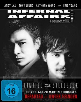 Infernal Affairs 1-3 - Trilogie - Uncut/Steelbook [Blu-ray]