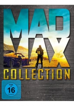Mad Max - Collection [Blu-ray] 1-4 (incl. Fury Road)