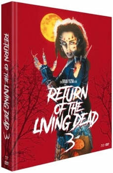 Return of the Living Dead 3 Mediabook uncut LIMITED EDITION / 3 Disc
