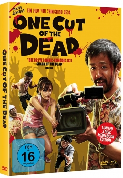 One Cut of the Dead 3 Disc Limited Mediabook Edition (B-WARE)