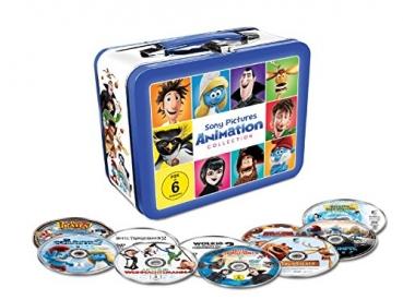 Animation 10 Filme Collection - Exklusiv geprägte Kids Lunchbox mit 10 Filmhits im limitiertem Koffer - 10 x DVD