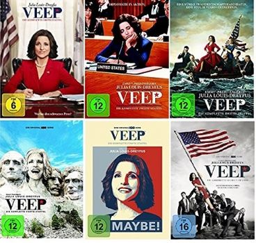 Veep Staffel 1-6 (1+2+3+4+5+6) [DVD Set]