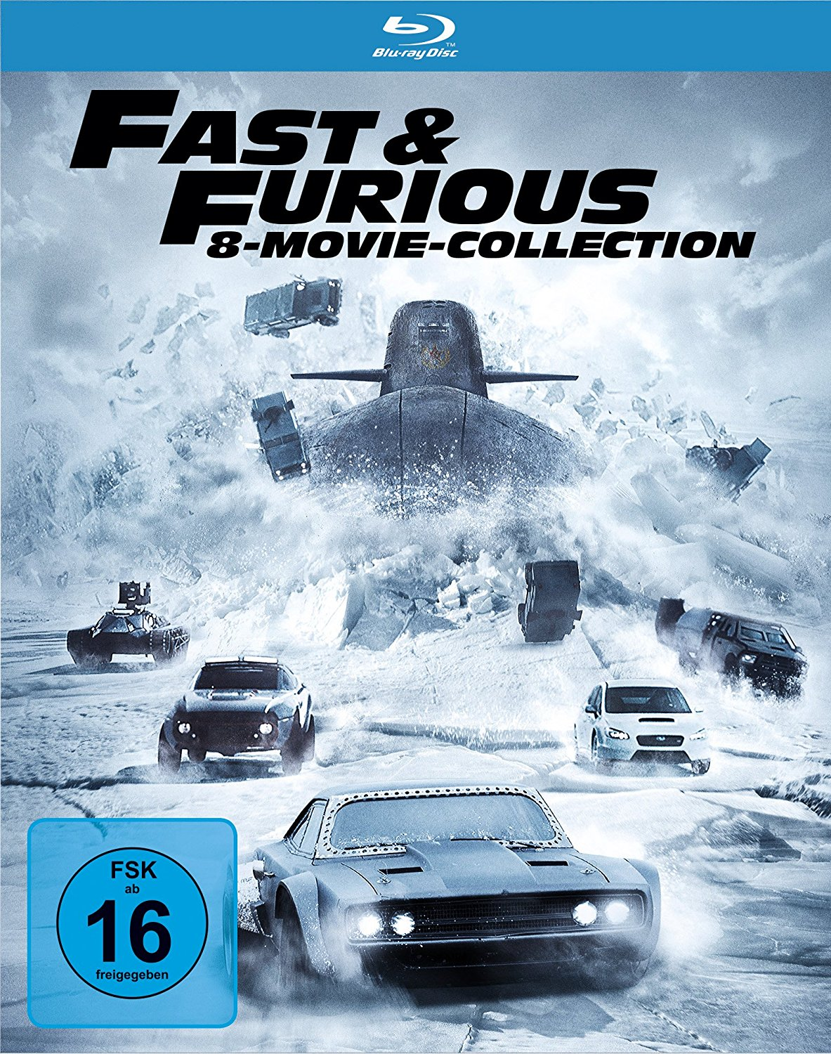 alphamovies fast furious 8 movie collection blu ray. Black Bedroom Furniture Sets. Home Design Ideas