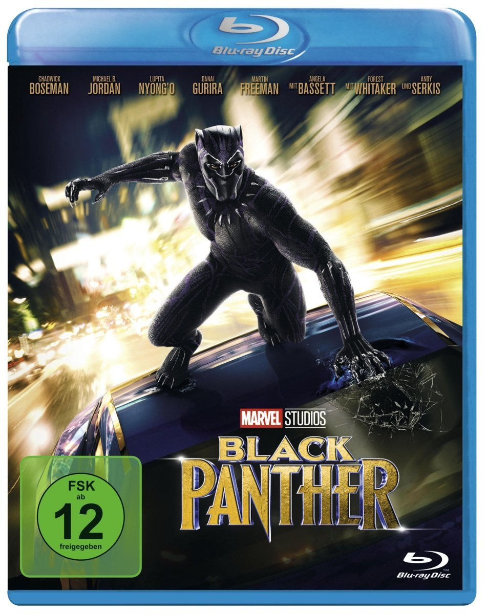 Alphamovies - Black Panther [Blu-ray]