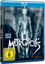 Metropolis - 3-Disc Special Edition Blu-Ray