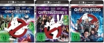Ghostbusters 1+2+Answer the Call [4K Ultra HD Blu-ray Set]