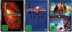 Spider-Man 1+2+3 + The Amazing Spider-Man 1+2 + Spider-Man Homecoming + Spider-Man Far From Home [DVD Set] 7 Discs