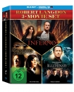 The Da Vinci Code - Sakrileg / Illuminati / Inferno [Blu-ray]